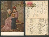 H. Kaulbach farb-AK Ein Märchen 1918 (d3631)