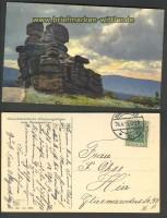 Riesengebirge farb-AK charaktierische Stimmungsbilder 1915 (d3756)