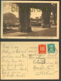 Breslau sw-AK Pergola Blick Jahrhunderthalle 1927 (d3766)