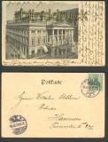 Breslau sw-AK Stadttheater 1902 (d3769)