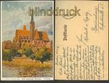 Breslau farb-AK Kreuzkirche malerische Breslau 1937(d3771)