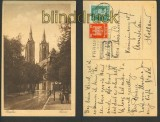 Breslau sw-AK Dom 1927 nach Amsterdam (d3775)