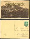 Bad Bentheim sw-AK Bad Bentheim mit Schloß 1928 (d3814)