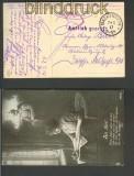 Feldpost 1. WK Postüberwachung Elsass Mackenheim 1917 (23730)