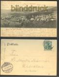 Bad Flinsberg sw-AK Blick vom Waldfrieden 1902 (d3874)