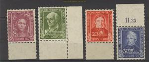 Bund Mi #  117/20 Helfer der Menschheit 1949 ** (23749)