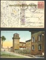 Italien Auslands-Zensur-AK Rom 26.8.1917 (23835)