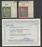 Bund Mi #  139/40 postfrisch Marienkirche Lübeck Fotobefund Schlegel (23878)