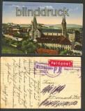 Bamberg farb-AK Dom Residenz + Michelsberg Zensur 1916 (d4041)