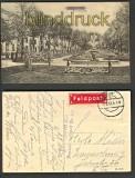 Saarburg sw-AK Freiheitsplatz Feldpost 1917 (d4069)