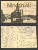 Metz sw-AK evangelische Kirche Feldpost 1916 (d4083)