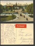 Mühlhausen farb-AK Eingang zur Stadt 1916 (d4085)