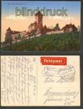 Hohkönigsburg farb-AK Feldpost 1916 (d4087)