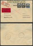 Elsaß Mi # 15 + 2 x 512 Notstempel Drusenheim 1940 (23913)