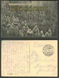 Der Kronprinz von Preussen im Schützengraben sw-AK 1915 (d4097)