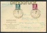 franz. Zone Württemberg Mi # 48/49 FDC Ersttagsbrief (23981)
