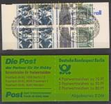 Berlin Markenheftchen Mi # 14 Sehenswürdigkeiten gestempelt (24053)