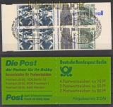 Berlin Markenheftchen Mi # 14 SWK gestempelt (24053)