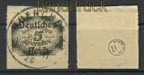dt. Reich Dienst Mi #  51 gestempelt geprüft Briefstück (24109)