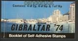 Gibraltar MH Mi # 1 Gibraltar ´74 postfrisch (24123)