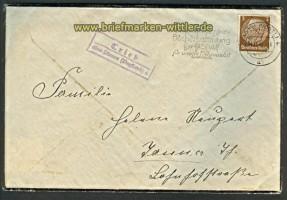 Trieb über Plauen 4 Landpoststempel 1941 (24217)