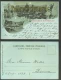 Firenze sw-Litho-AK Ricordo di Frienze 1898  (a0763)
