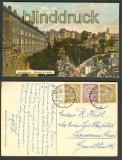 Luxemburg farb-AK Casernes & corniche 1911 (a0802)