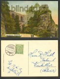 Luxemburg farb-AK Schlossbrücke 1912 (a0804)