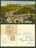 Luxemburg Vianden farb-AK Panorama 1910 (a0805)