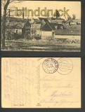 Athies bei Péronne sw-AK Teilansicht 1917 (a0810)