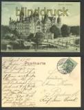 Schwerin sw-AK Schloß Stadtseite 1908 (d4194)