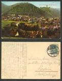 Bad Harzburg farb-AK mit Burgberg 1912 (d4198)