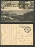 Dausenau sw.AK Blick v Forsthaus nach Dausenau 1916 (d4211)