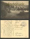 Ilmenau sw-AK Partie am Ritzebühler Teich Feldpost 1916 (d4218)