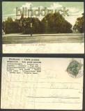 Berlin farb-AK Grunewald Bismarckplatz mit Denkmal (d4228)