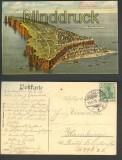 Helgoland farb-AK Gesamtansicht Grün ist das Land.... 1909 (d4252)