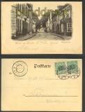 Aurich sw-AK Burgstrasse 1900  (d4277)
