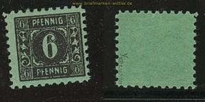 SBZ Mi #   8 y postfrisch maigrün gepr. Kramp BPP (24286)