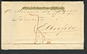 s´Gravenhage 1840 nach Elberfeld (23964)