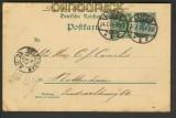 dt. Reich Mi # 46 aa auf Auslands-GSK Leipzig 1890  (24305)