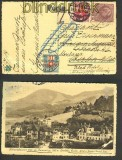 dt. Reich 3 Länder-Frankatur A - D - CH 1914 geprüft (24312)
