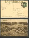 dt. Reich Mi # 143 a EF auf Auslands-Drucksachen-Karte gepr (24318)