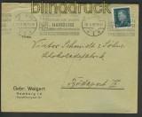 dt. Reich Mi # 415 EF Auslandsbrief Sonderporto Ungarn 1929 (24320)