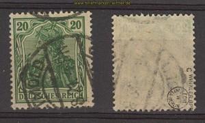 dt. Reich Mi # 143 c gestempelt geprüft Infla Berlin (24431)