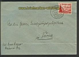 dt. Reich Arle über Norden Poststelle I 1938 (24453)