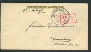 Gebühr bezahlt Barntrup 15.4.1946 (24416)