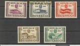 Österreich Mi # 1012/16 postfrisch (24630)