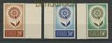 Zypern Mi # 240/42 postfrisch Europa 1964 (24635)