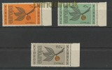 Zypern Mi # 258/60 postfrisch Europa 1965 (24636)