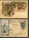 Berlin farb-AK Berliner Original Bauernschänke 1904 (d4330)